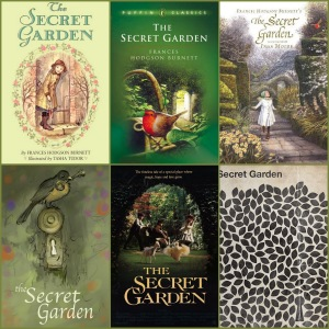 book covers for the secret garden